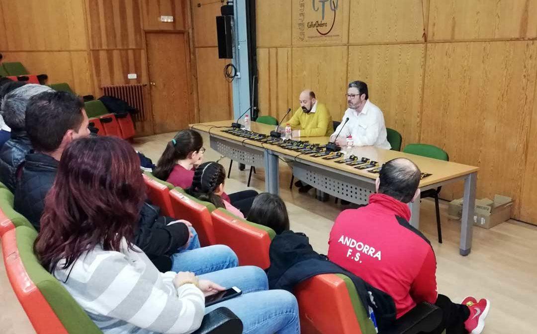 Cordones dorados contra la leucemia para los deportistas de Andorra