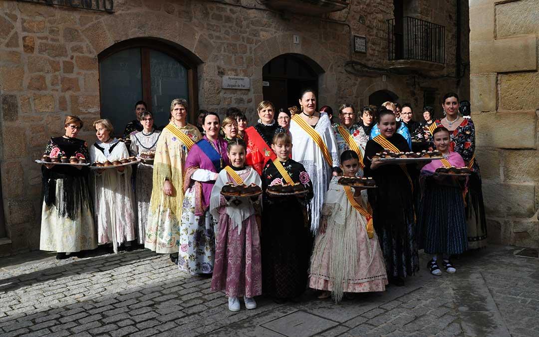 La nueva comisión de Santa Águeda de Cretas.