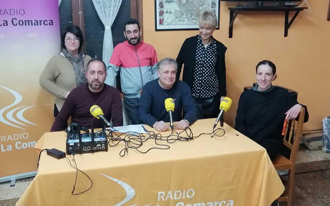 El programa se retransmitió desde Restaurante La Era de Cretas.