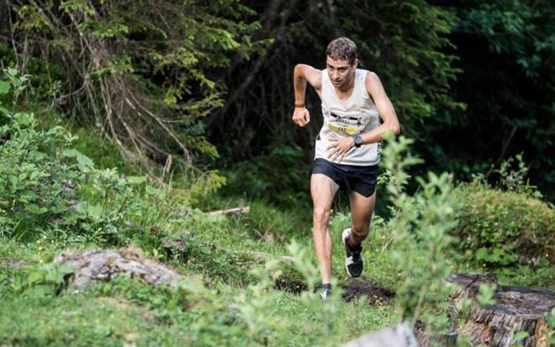 Daniel Osanz, Campeón del Mundo de kilómetro vertical./D. Osanz