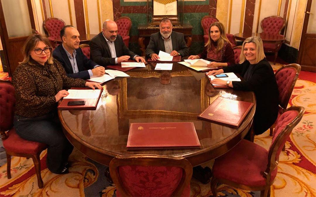Diputados socialistas./ PSOE