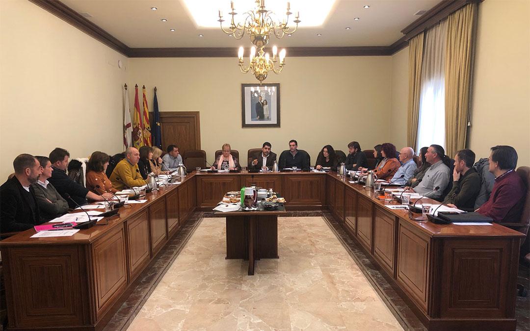 Reunión con los representantes de turismo de las 10 comarcas turolenses./ DPT