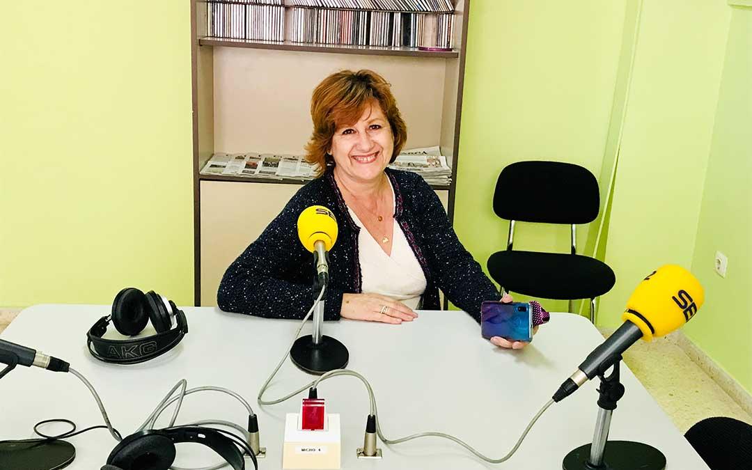 Elise Ventura es concejal de fiestas de Caspe.