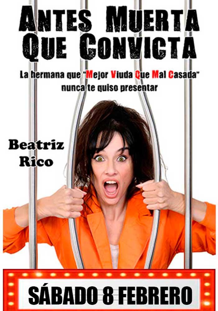 """""""Antes muerta que convicta"""" de Beatriz Rico en Alcañiz"""