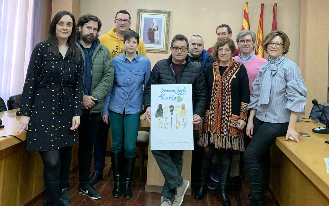 El tribunal con la mejor obra hecha a mano, de María Gascón / Ayto. Alcañiz