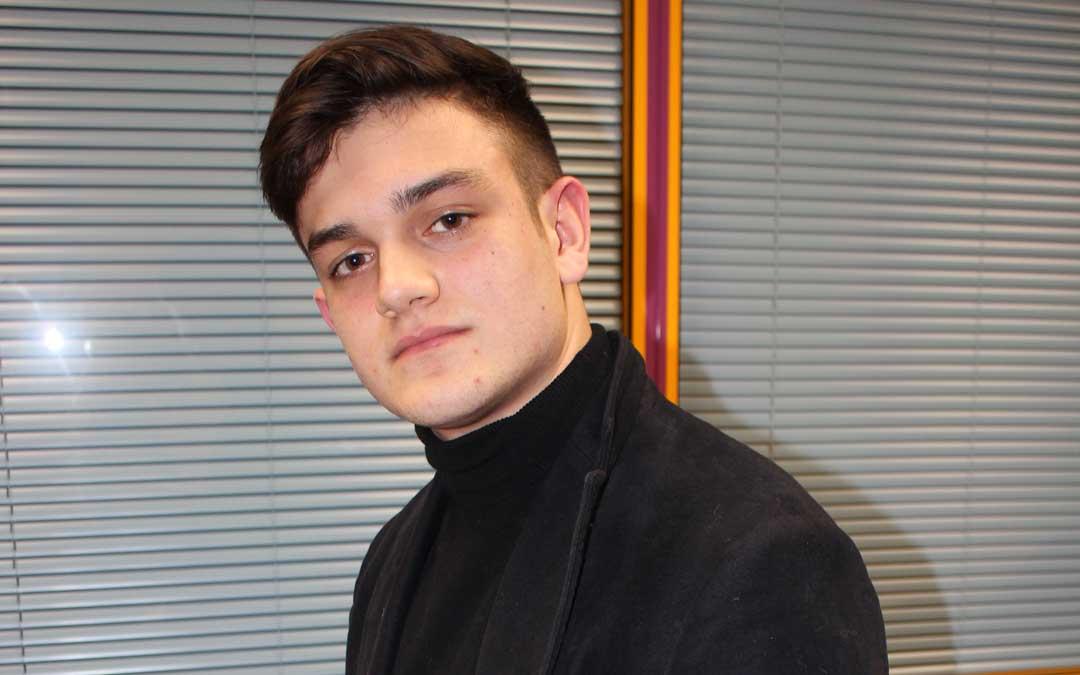 El joven Gonzalo Lorca