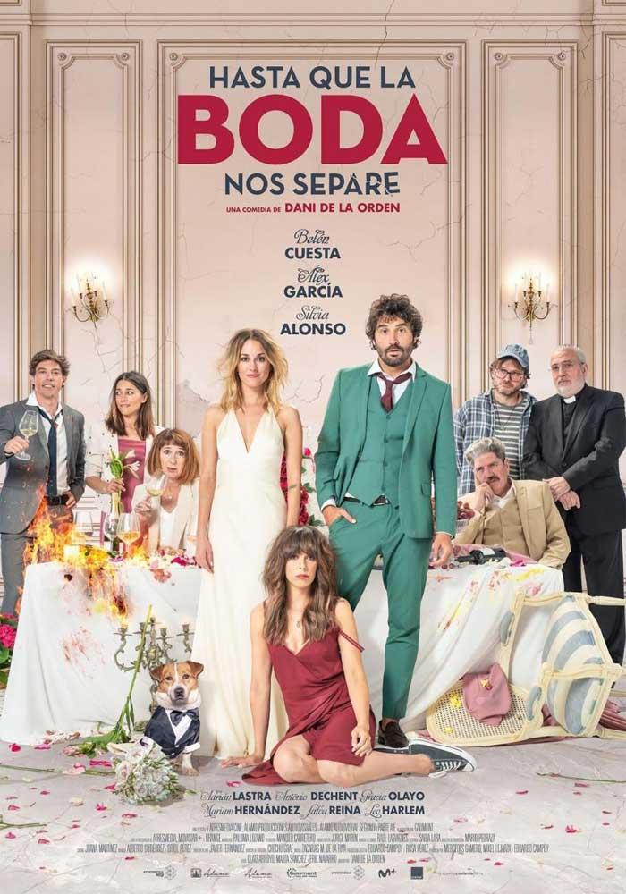 Cartelera en Alcañiz: Hasta que la boda nos separe