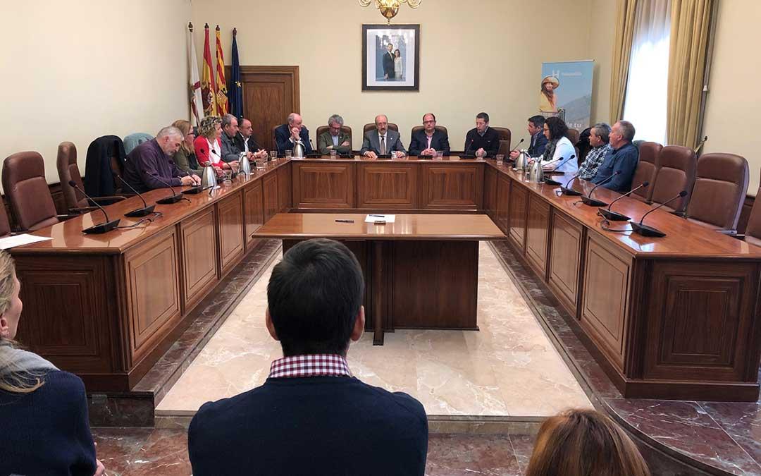 Reunión del proyecto HolaPueblo en Teruel. /DPT