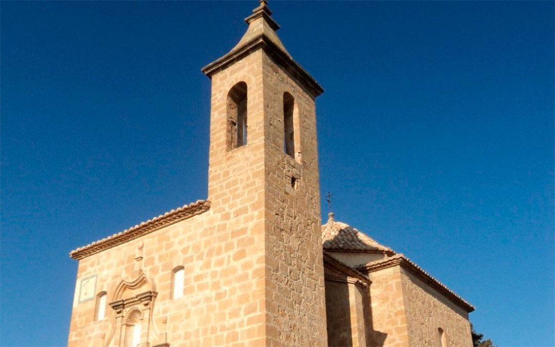 Iglesia de San Juan Degollado, restaurada en Valjunquera./ DGA