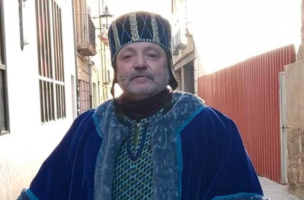El valderrobrense Jesús Calvo interpreta a Pedro de Azagra.