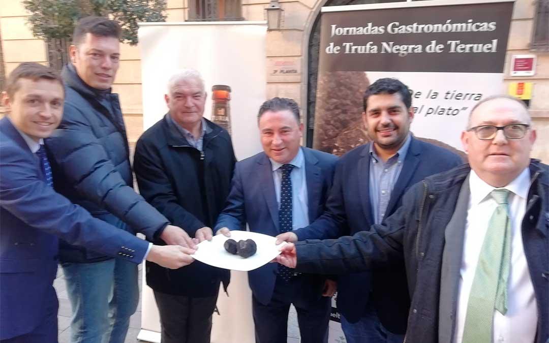 Presentación de las Jornadas Gastronómicas de la Trufa Negra de Teruel.