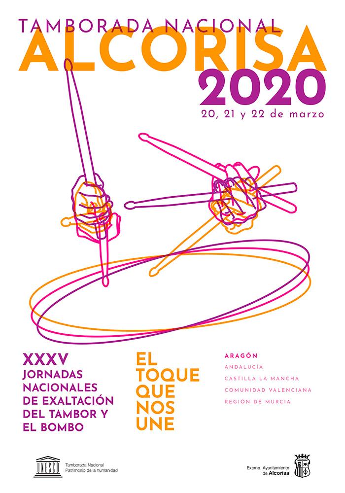 SUSPENDIDO Jornadas Nacionales del Tambor y el Bombo en Alcorisa 2020
