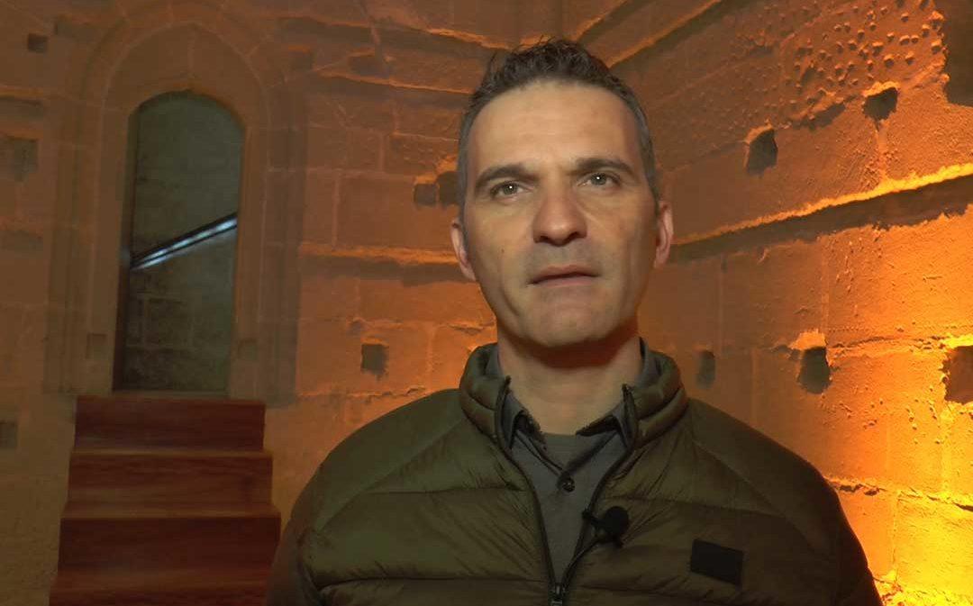 Alcañiz muestra la nueva  cara de su Torre Gótica