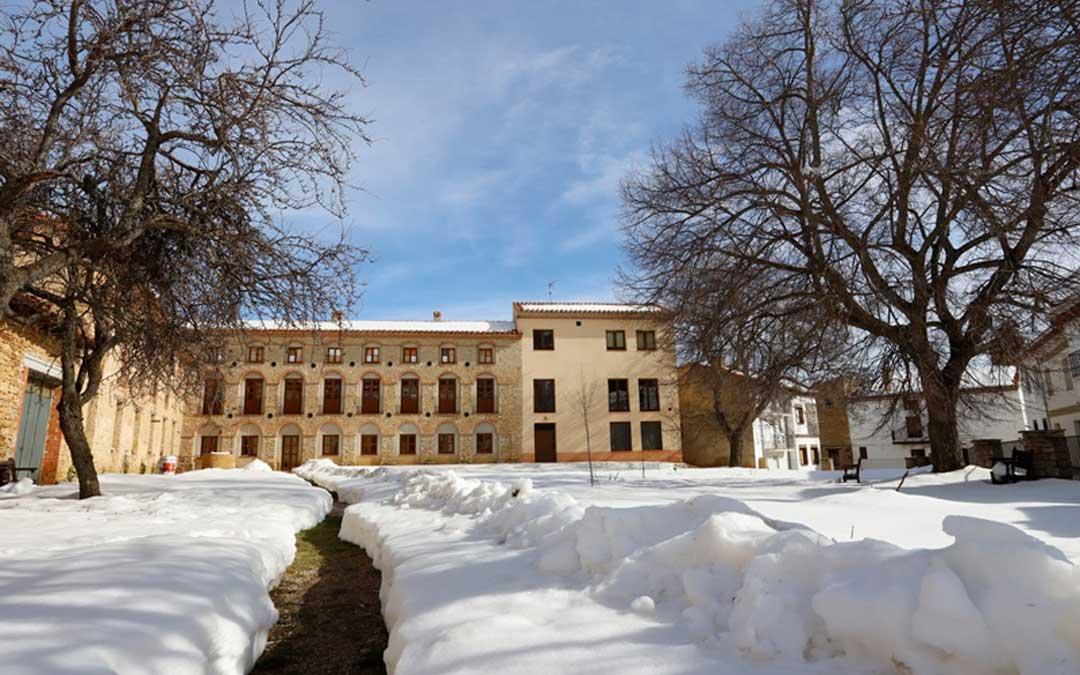 En el antiguo convento de La Iglesuela del Cid estará situada la nueva escuela infantil municipal que tendrá capacidad para 10 alumnos. / Ayto. La Iglesuela