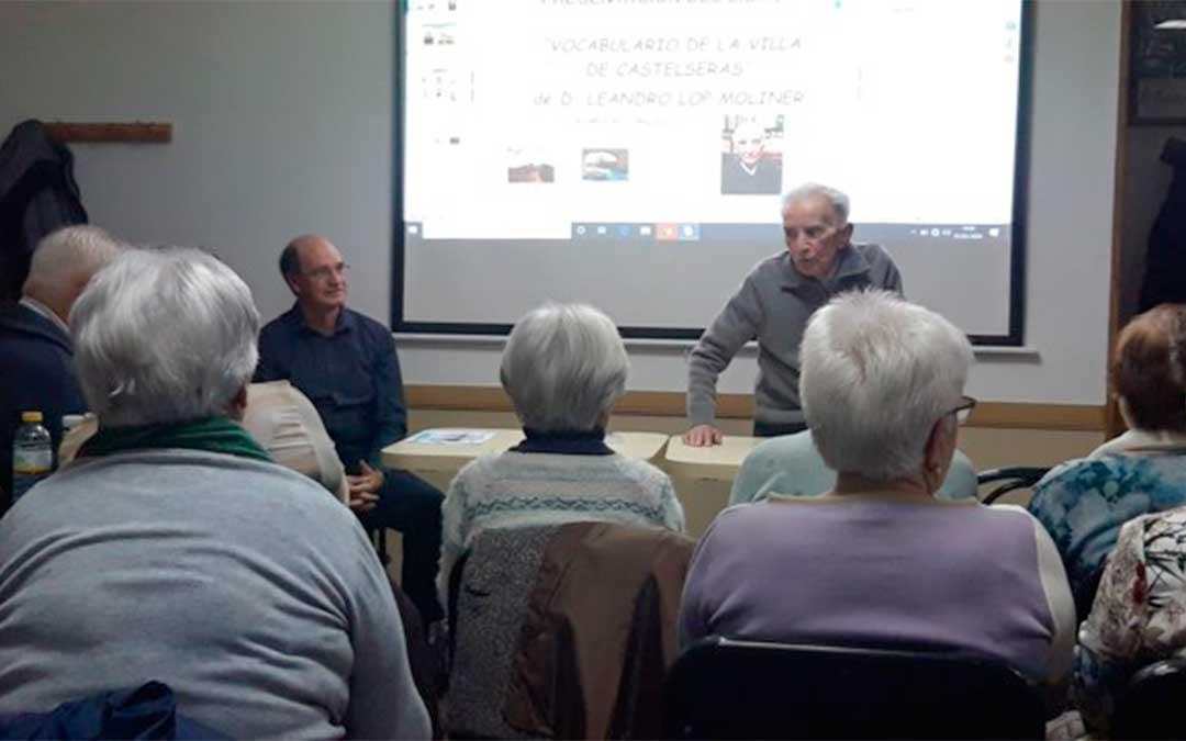Presentación de 'Vocabulario de la Villa de Castelserás'./ Gregorio Paricio