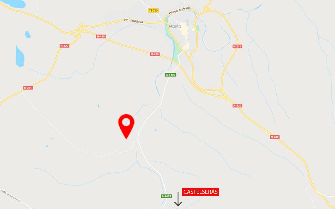Muere un vecino de Alcañiz en un accidente con su tractor
