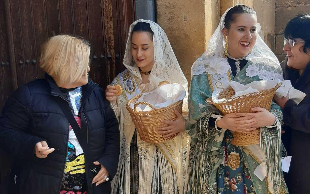 Santa Águeda en Mazaleón. / B. Severino