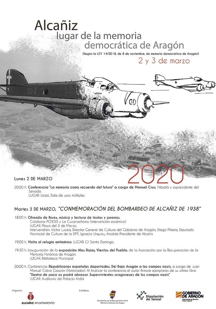 Alcañiz. Lugar de la memoria democrática de Aragón