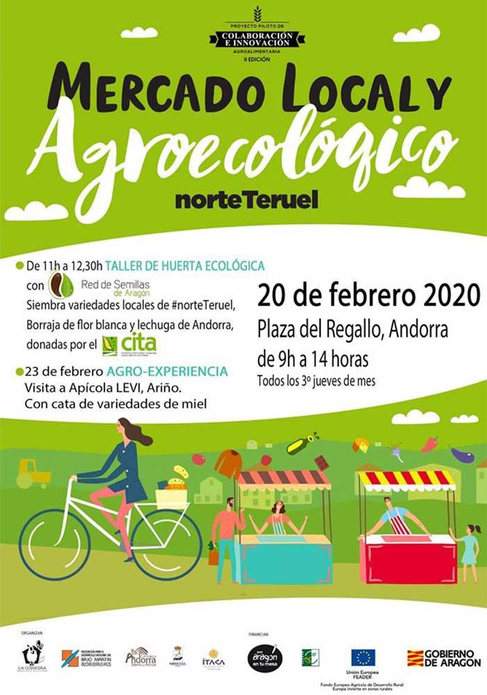 Mercado local y agroecológico en Andorra