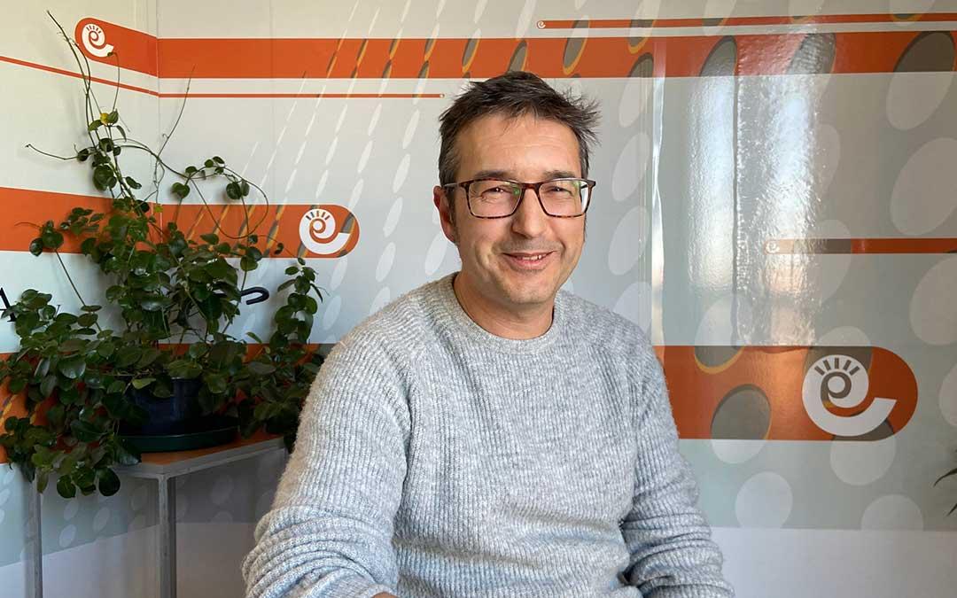 Miguel Ángel Toro, autor de 'Deceso programado'./ A.M.