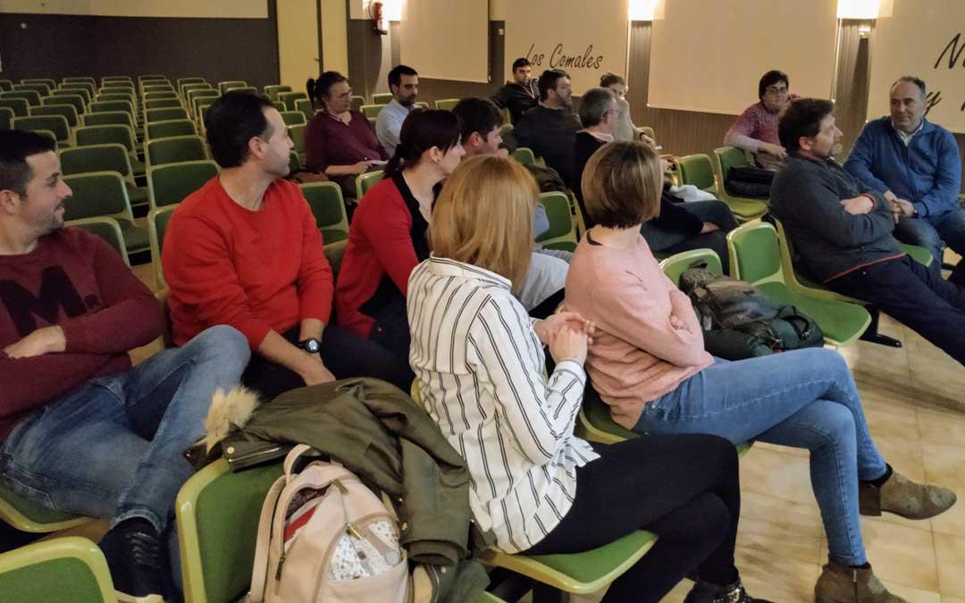 Alcorisa fue la última localidad en acoger las charlas sobre las ayudas Leader.