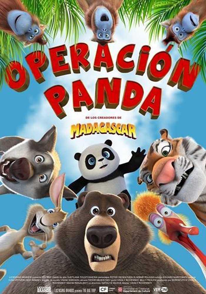 Cartelera en Maella: Operación Panda