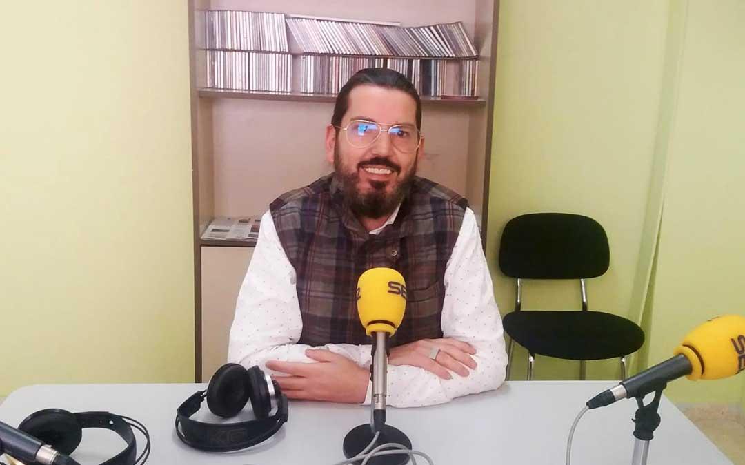 Pedro Palacios es portavoz de Historica Vestimentum.