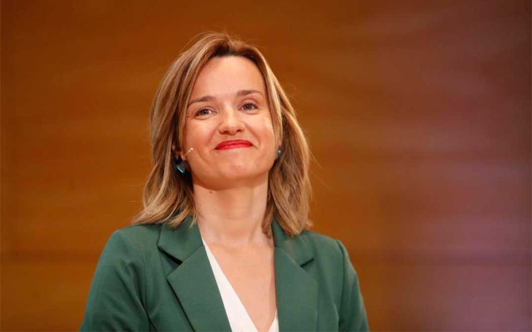 Pilar Alegría, nueva delegada del Gobierno de Aragón./ Oliver Duch