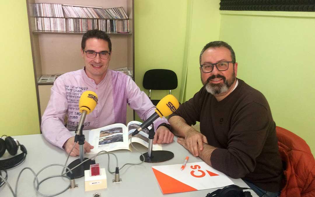 Cristian Poblador y Agustín Moré forman parte de Ciudadanos Caspe.