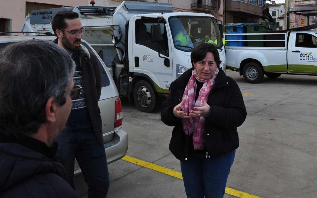 La directora general Marta de Santos ha conocido de primera mano el funcionamiento del Porta a Porta.