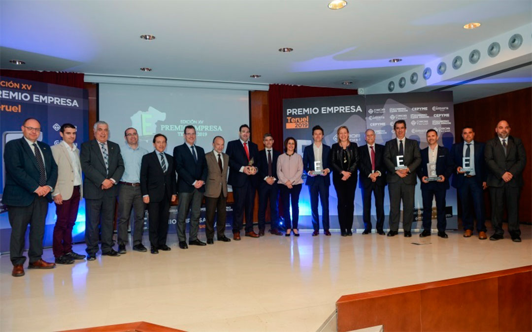 Premio Empresa Teruel 2019./ DGA