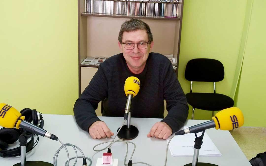 Rafael Lumbreras es concejal de cultura de Caspe.