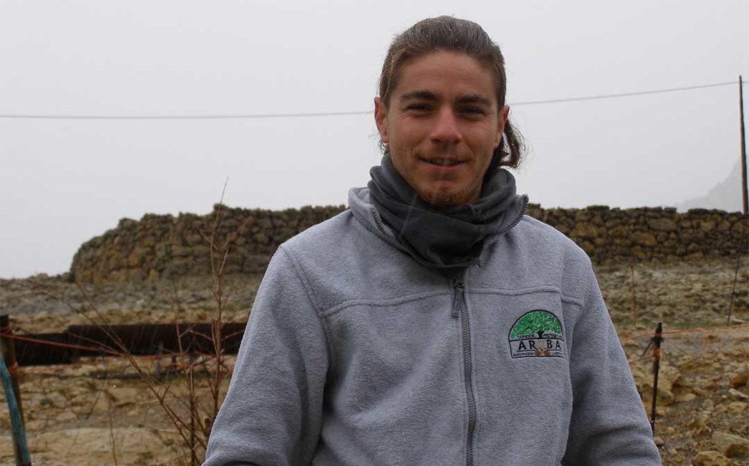 Raúl, el joven que sueña con reforestar Ladruñan