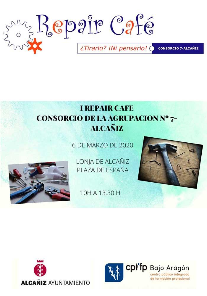 Primer Repair Café en Alcañiz
