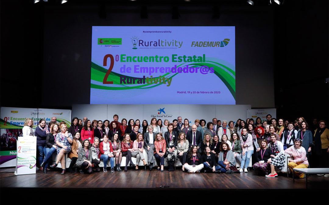 Más de 200 mujeres emprendedoras en el medio rural se dan cita en Ruraltivity