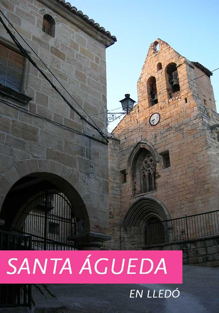 Santa Águeda en Lledó