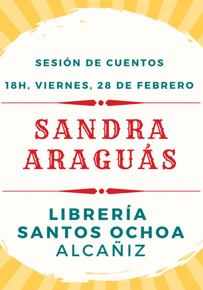 Cuentacuentos en Santos Ochoa de Alcañiz