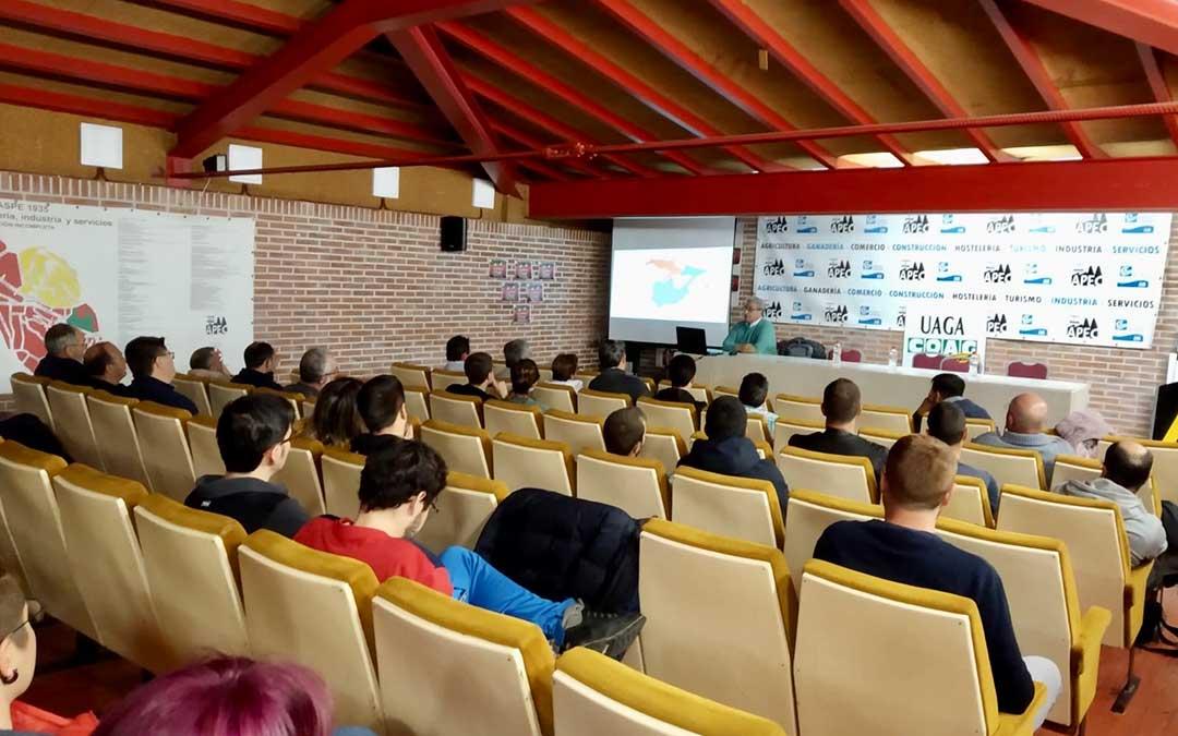 La segunda jornada de la Semana Agraria tuvo lugar en Caspe el miércoles.