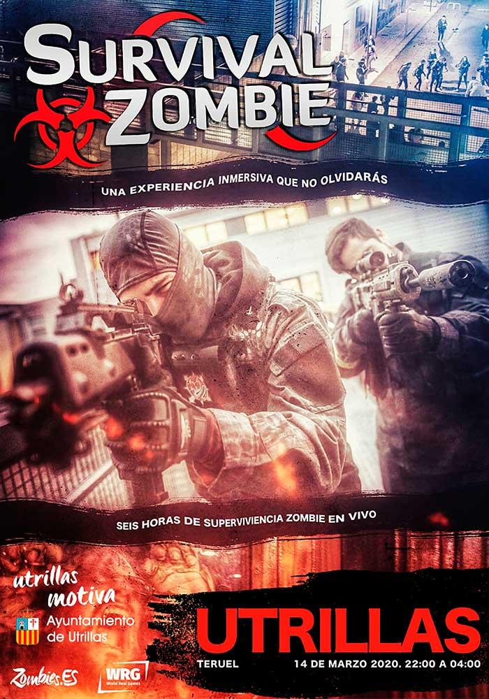Utrillas se invadirá masivamente por zombies