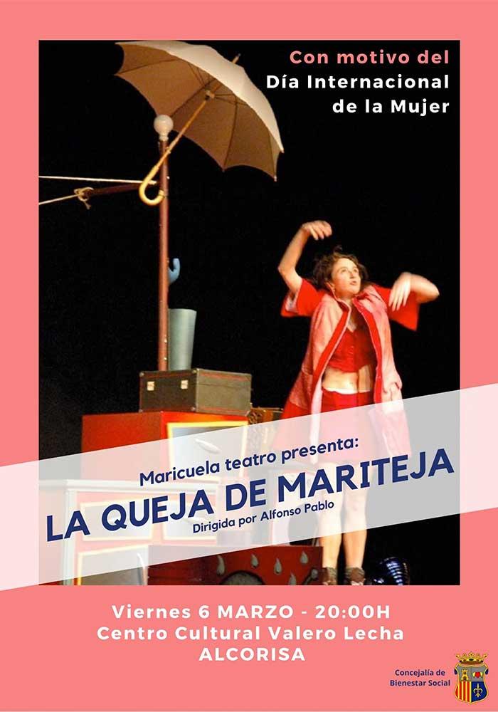 Teatro: Mariteja y su queja en Alcorisa