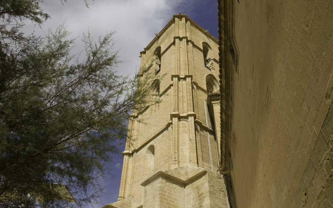 Exterior de la Torre Gótica de Alcañiz