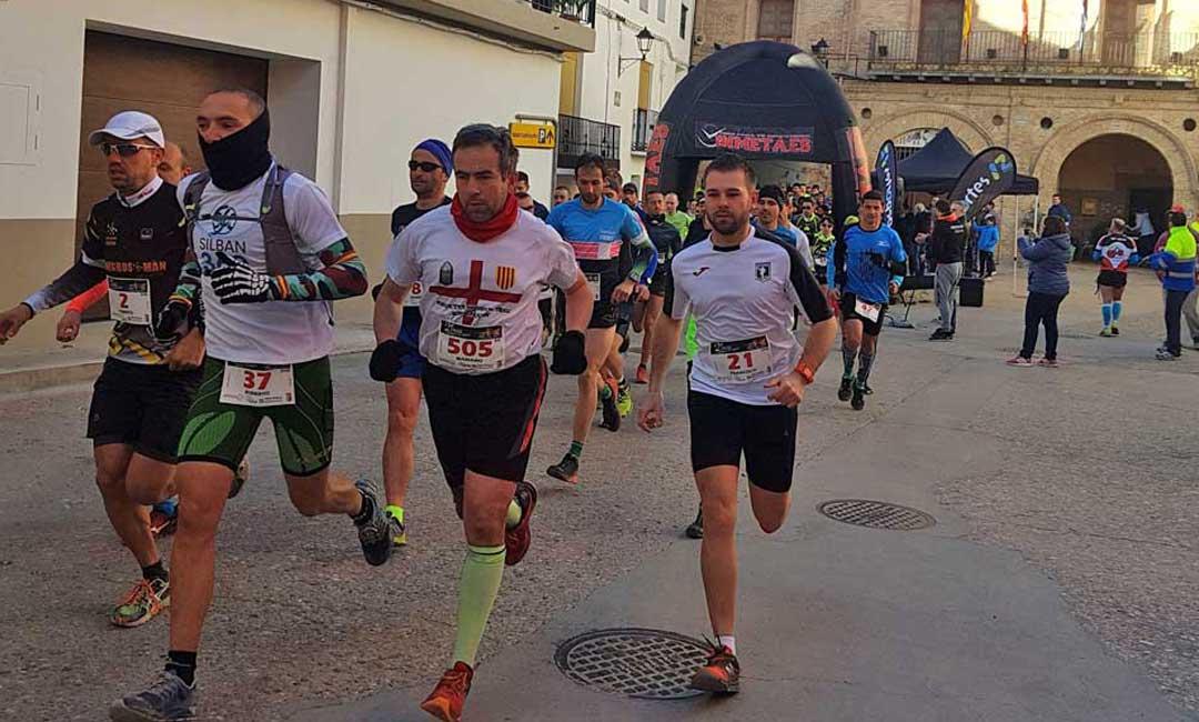 La tercera edición del Trail Carrera del Buitre se celebra el domingo en Urrea de Gaén