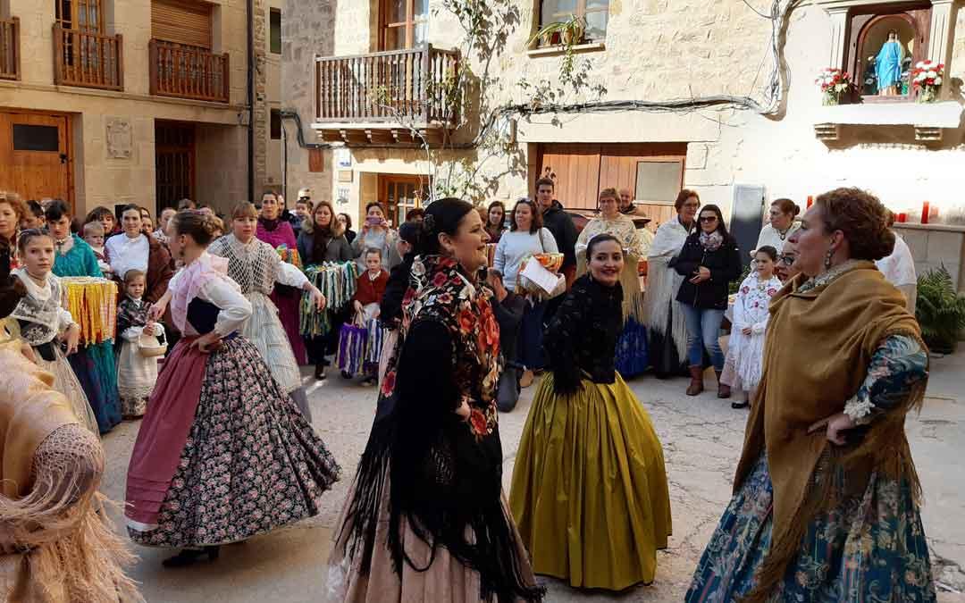 Santa Águeda en Valderrobres. / B. Severino