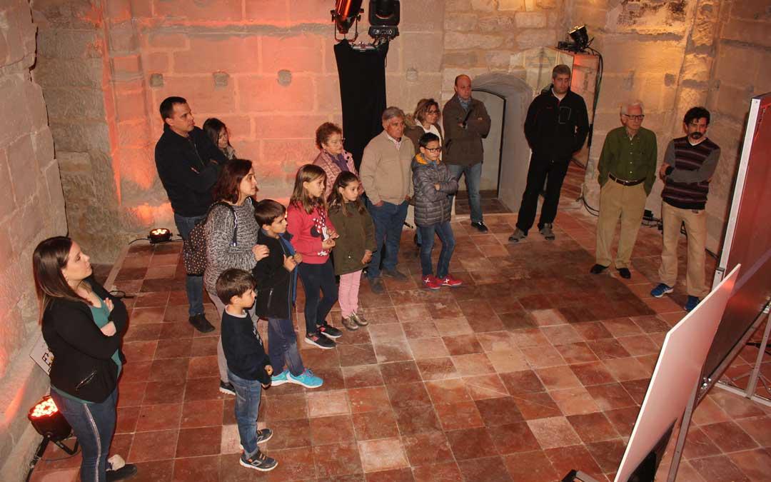 Las visitas guiadas gratuitas comenzaron el pasado sábado y terminarán el domingo 29 de febrero / L. Castel