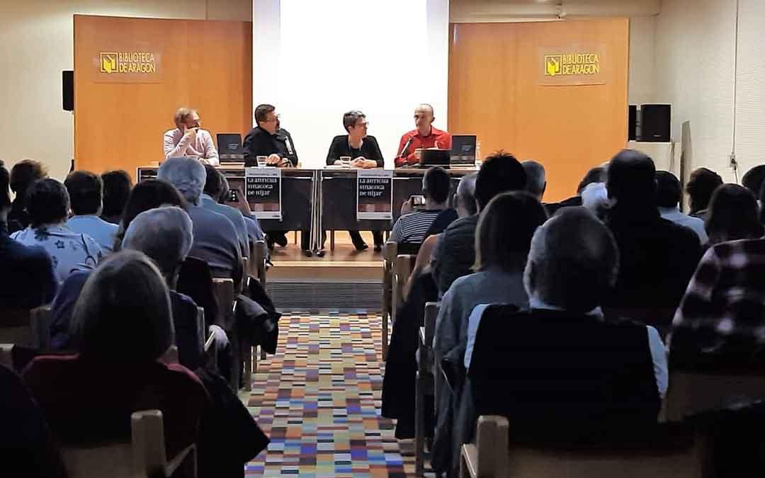 Presentación del libro de Antonio Hernández en Zaragoza