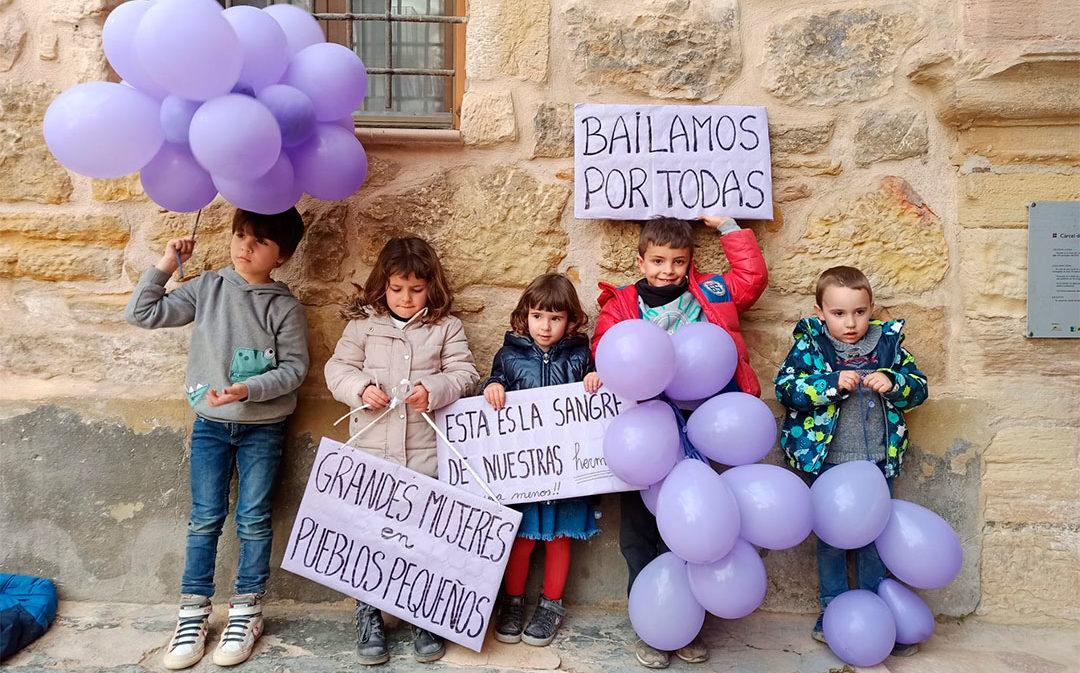 El Día de la Mujer, en imágenes: el 8-M en el Bajo Aragón Histórico