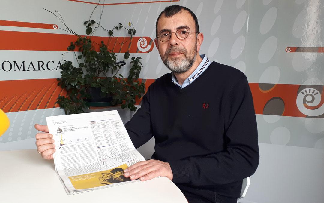 El librero alcanizano Miguel Ibanez