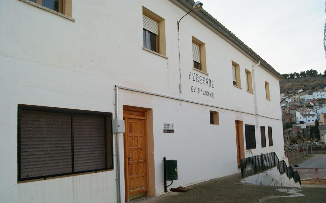 Imagen de archivo del albergue de Albalate. / La Comarca