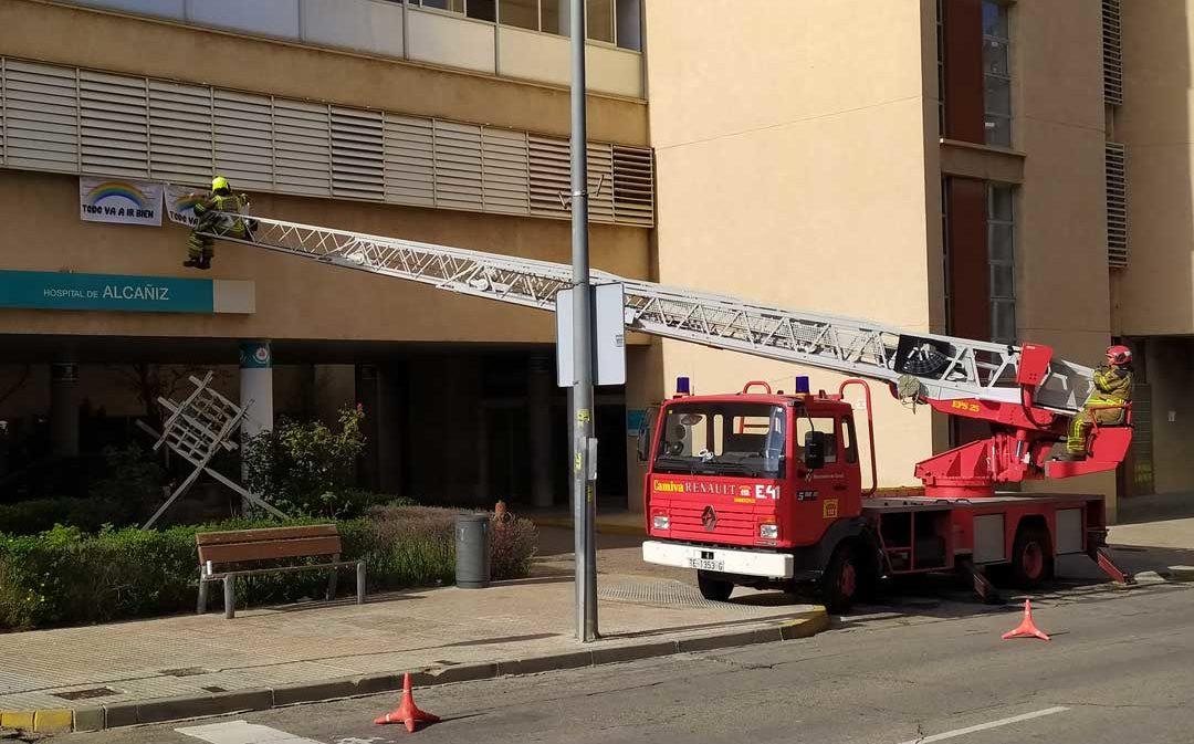 Una vecina de Alcañiz fallece por coronavirus en un hospital de Zaragoza
