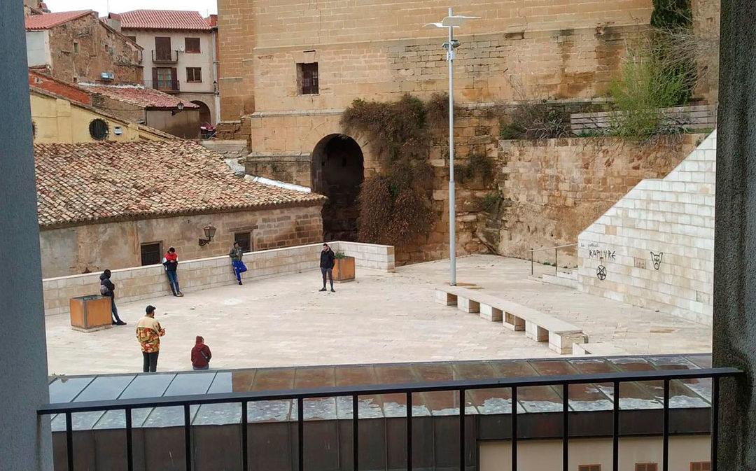 Un ladrón, el primer denunciado por incumplir el estado de alarma en Alcañiz
